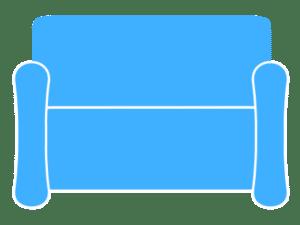 2-Sitzer Sofa Polsterreinigung